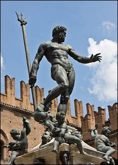 fontana nettuno picture, neptune fountain picture