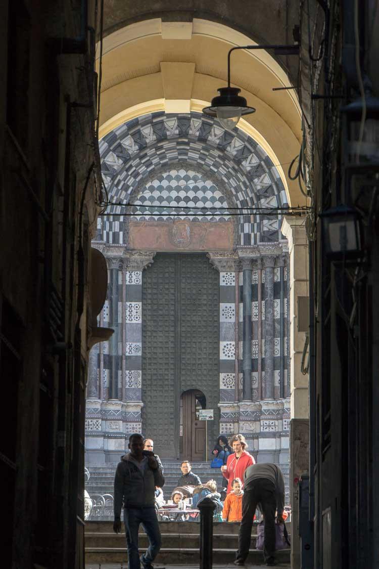 genoa street picture