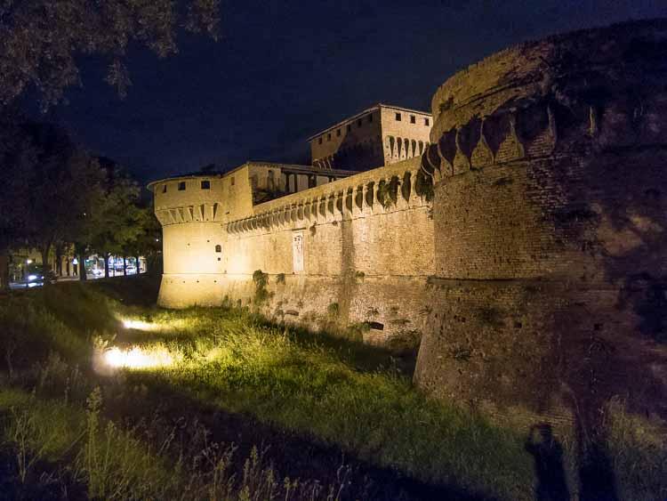 forli castle picture