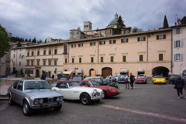classic cars assisi picture
