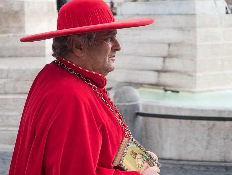 cardinal in rome
