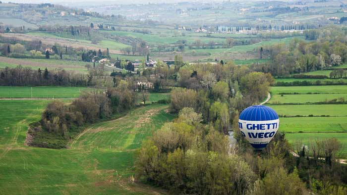 chianti hot air balloon