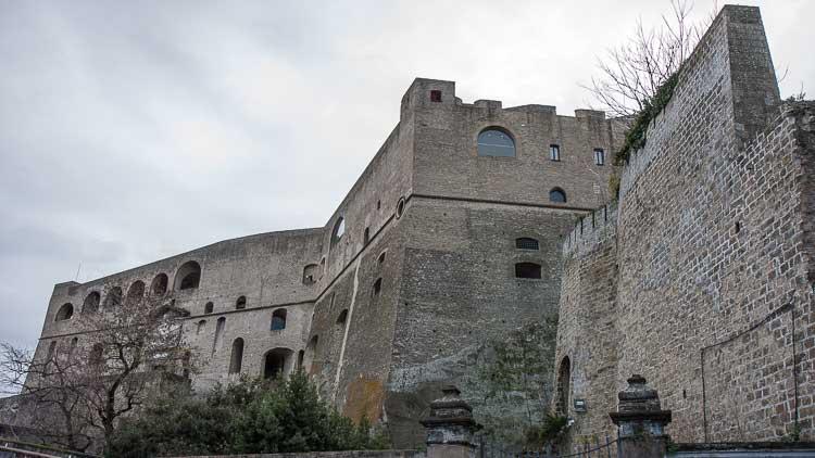 sant'elco castle vomero hill