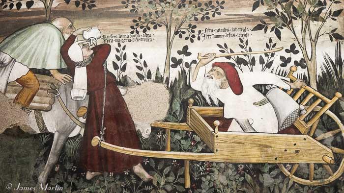 manta castle fresco
