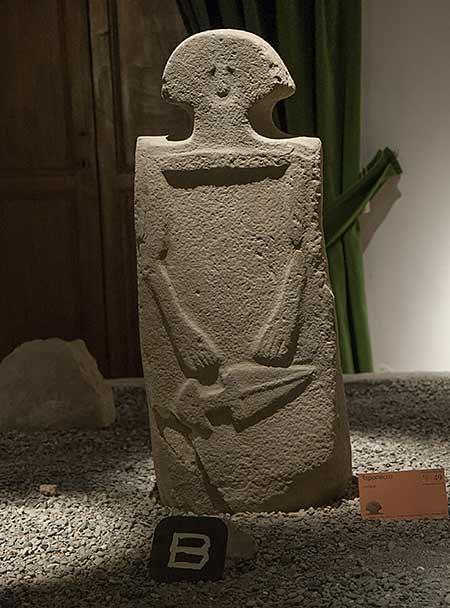 stele statue