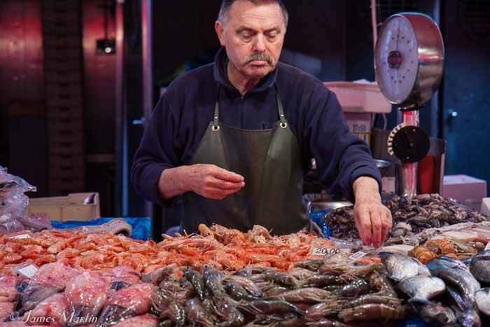 chioggia fishmonger