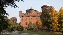 castle in borgo medievale turin