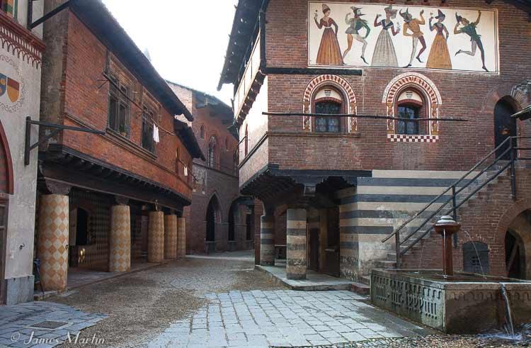 medieval village parco valentino