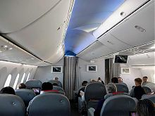 norwegian air premium class cabin