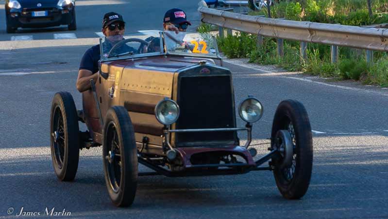 mille miglia gold car