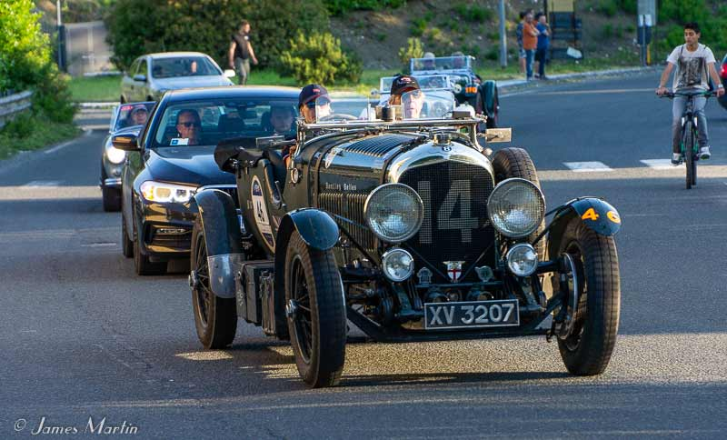 mille miglia black car