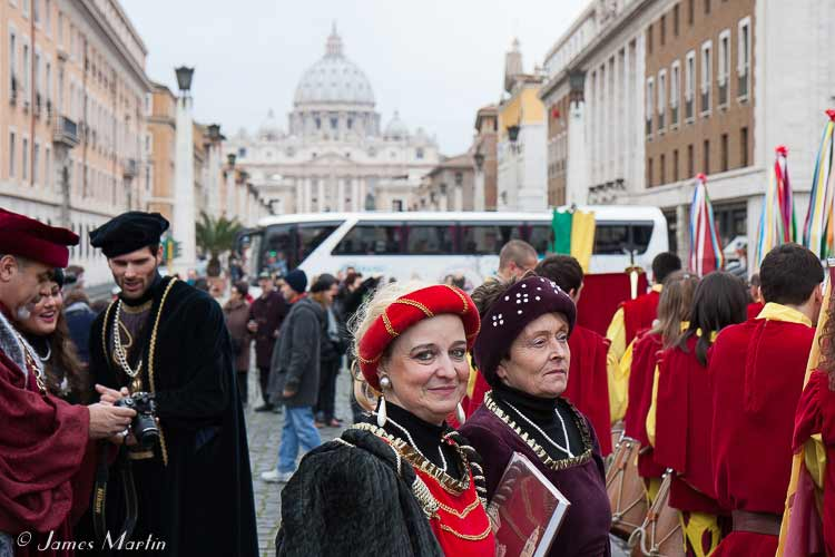 medieval people rome