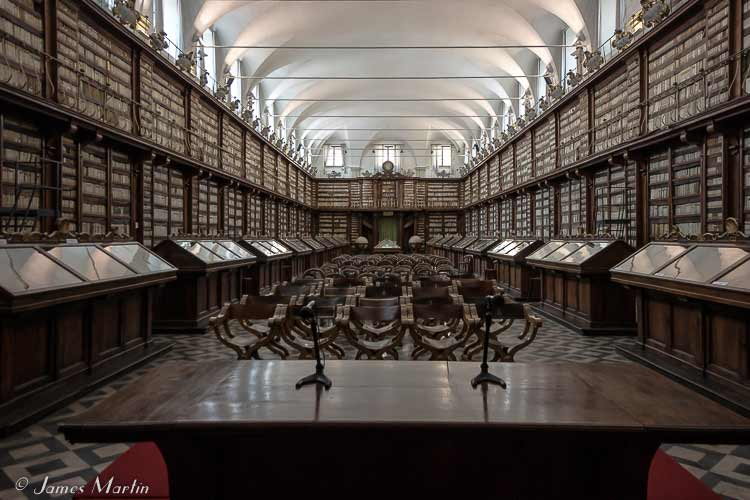 Rome's Awe-Inspiring Historic Libraries