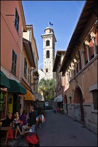 rapallo italy, rapallo street scene