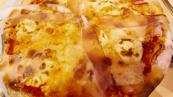Lardo di Tressana Pizza