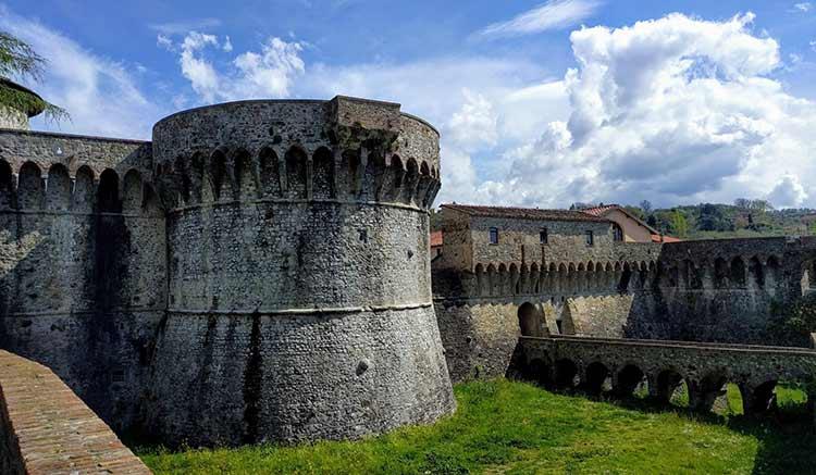 sarzanello castle sarzana italy