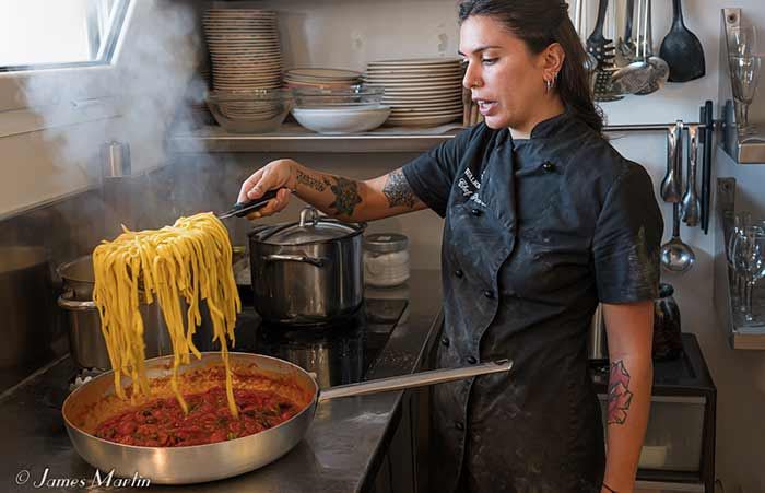 Making Pasta in the Heart of Rome