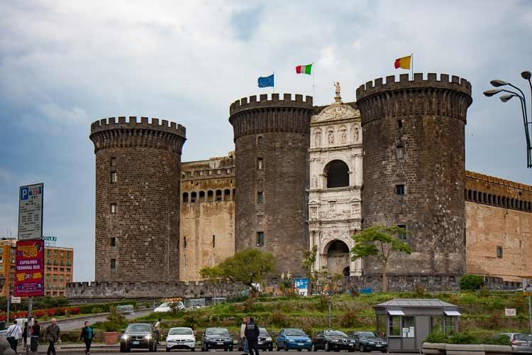 naples castle nuovo
