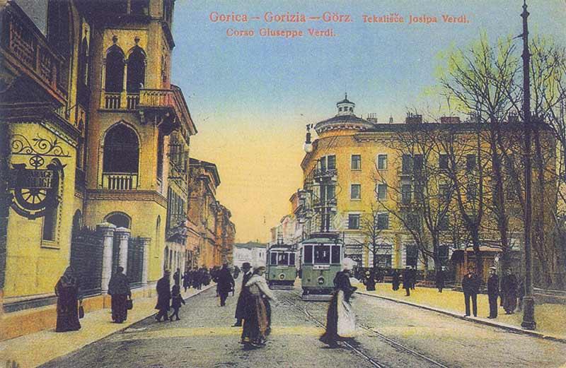 gorizia italy postcard