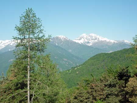 view of alps, giro d'italia