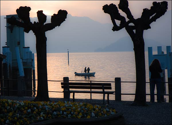 bellagio sunset, bellagio italy, lake como