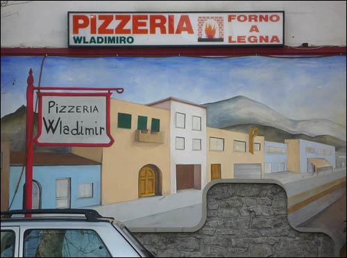 pizzeria wladimiro in Fivizzano, Italy.