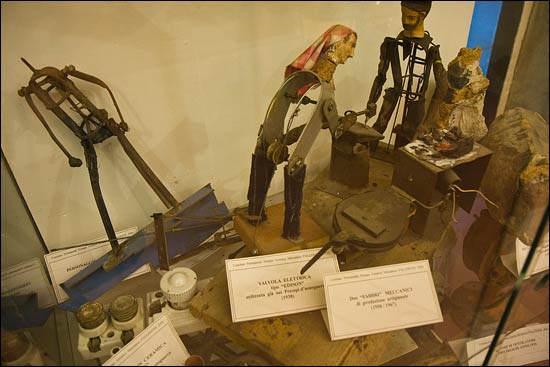 mechanical figures used in the Pallerone presepe