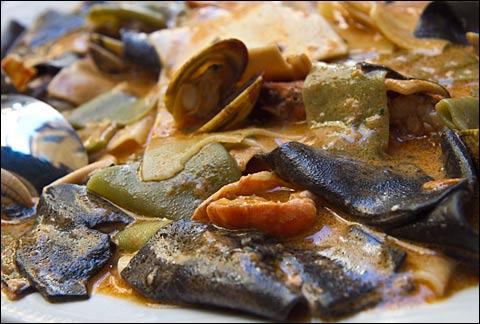 lasagnette frutti di mare