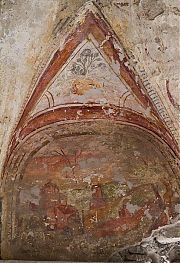 malgrate tower frescoes