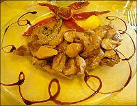 pork filet with porcini