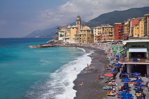 camogli beach picture