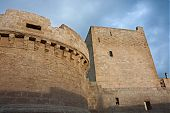 castle in puglia picture