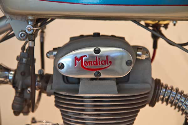 italian motorcycle detail