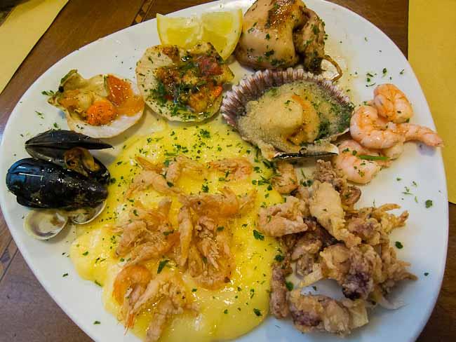 seafood sampler
