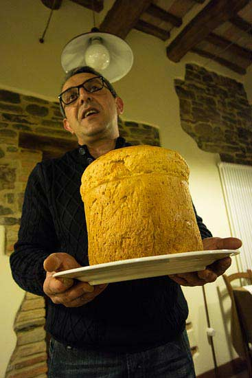 torta brusca, crescia al formaggio