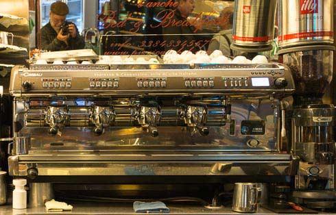 espresso maching bar pizzicato picture