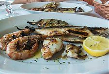 trabucco grilled fish picture