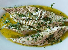 marinated mackerel picture