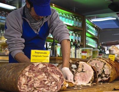 Porchetta in Sarzana, Italy