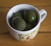 Green Cerignola Olives