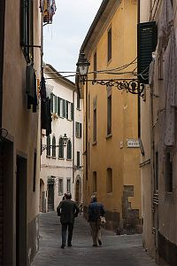 enclosed street pistoia