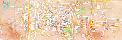 pistoia twisted streets map