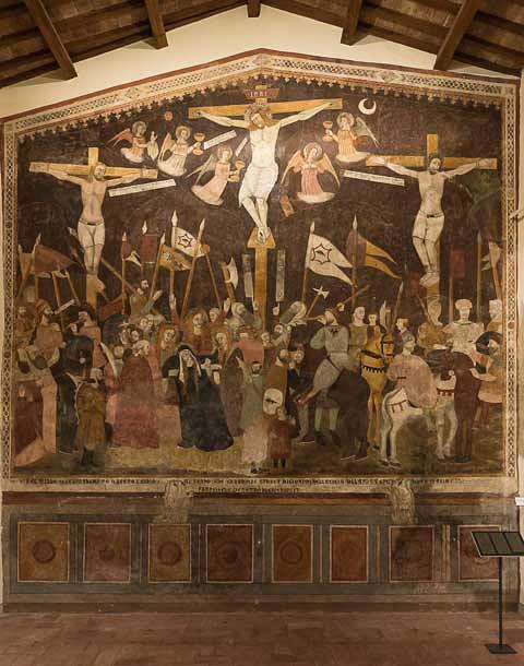 paciano medival fresco picture