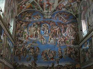 sistine chapel picture
