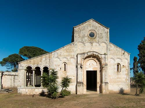 abbey of santa maria di cerrate picture