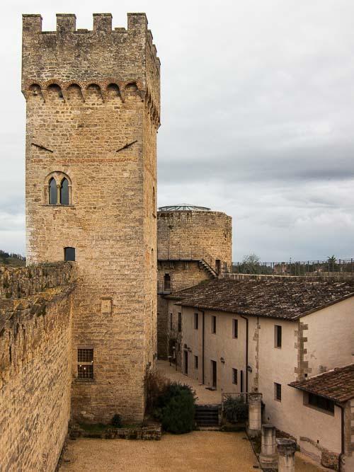 staggia senese castle picture