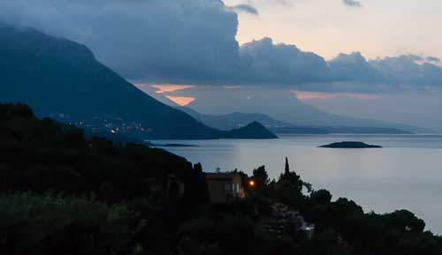 maratea sunset picture
