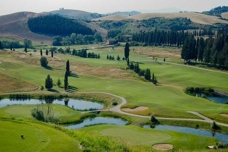 castelfalfi golf course picture