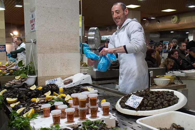 cagliari fish market picture