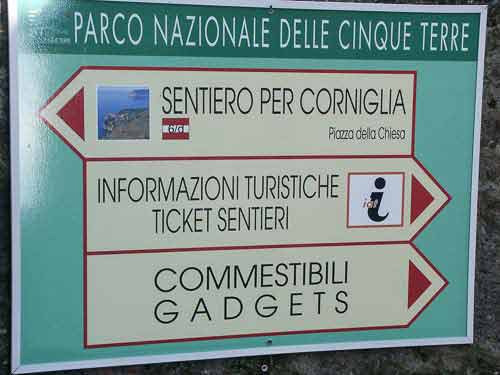 Cinque Terre Trail Map  Walking the Trails  Wandering Italy